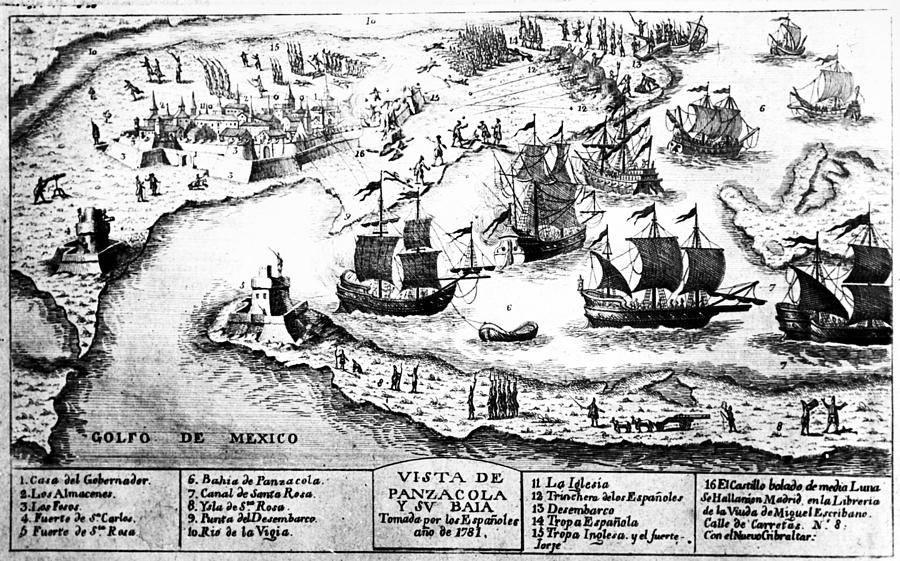Siege of Pensacola 1781