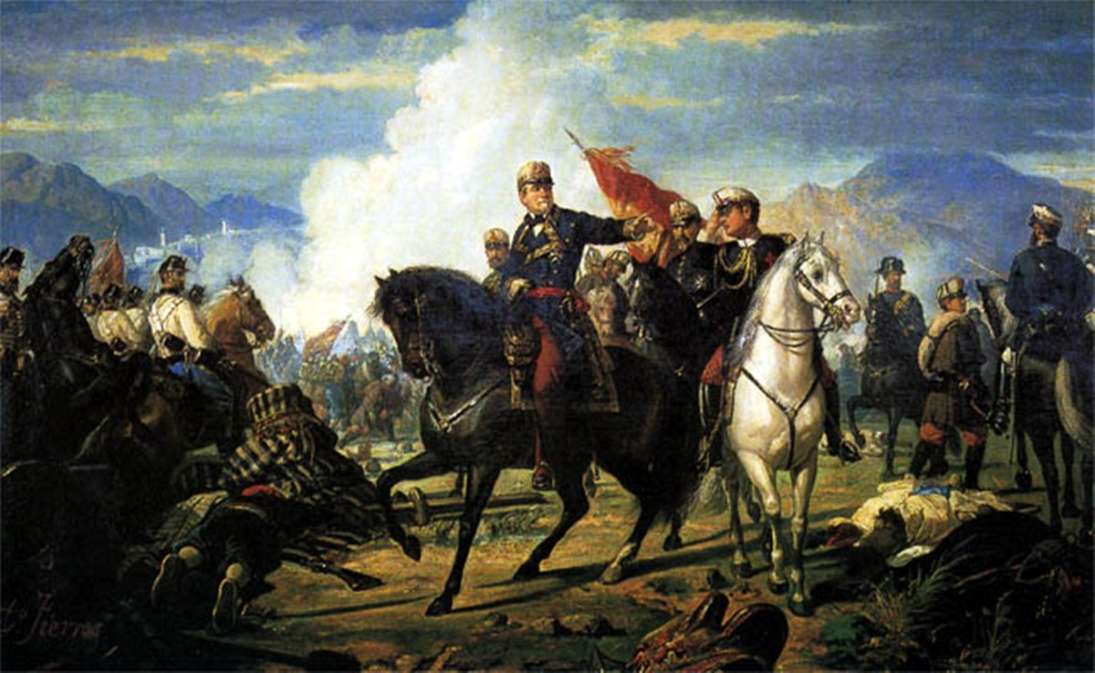 The battle of Tetuan by Dionisio Fierros