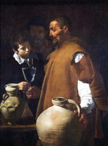 El aguador de Sevilla by Velazquez
