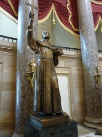 unípero Serra in National Statuary Hall Collection - Jim McIntosh