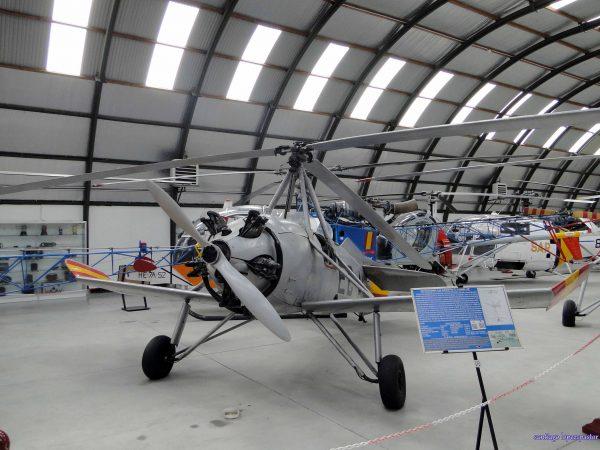 La Cierva C-19 MK-4P gyroplane. <a href=