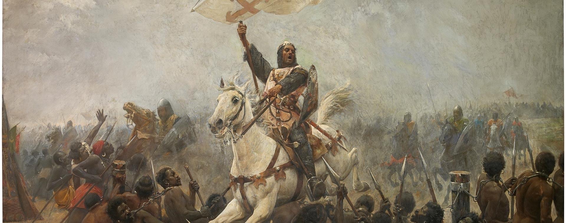 The triumph of the Holy Cross at the Battle of Navas de Tolosa by Marcelino Santa María Sedano ©Museo Nacional del Prado