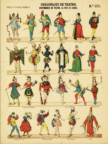 Characters in the Commedia dell'Arte