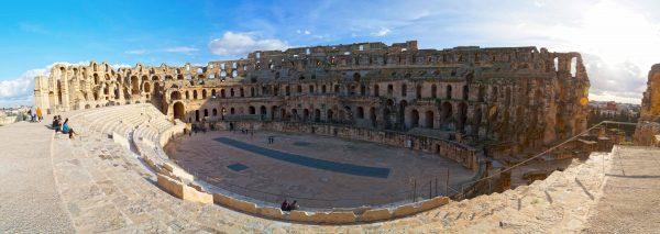 El Jem Ancient roman amphitheater, Tunisia | ©EnginKorkmaz @ depositphotos
