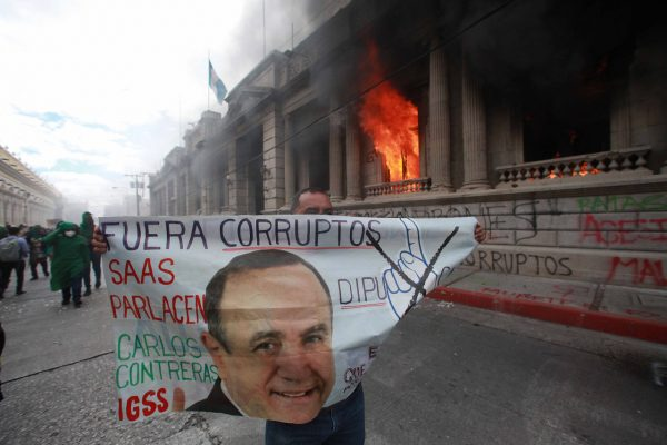 Protests in Guatemala City