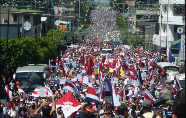 Protests in Costa Rica